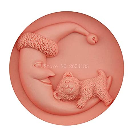 Amazon.com: 1 piece 3D Food-grade Silicone Mold Moom Bear Baby Cake Decorating Tool Chocolate Candy Jello Baking moldes de silicona para reposteria: Kitchen ...