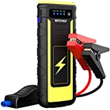 VETOMILE 800A Peak Car Jump Starter Booster Portable 21000mAH Auto Battery Charger Power Bank with USB charge Port and Flashlight,for Engines up to 6.5L Gas and 3.0L Diesel or Pickup Truck
