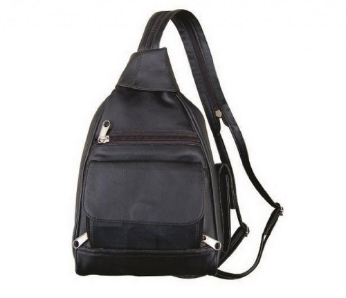allstate-leather-womens-plain-small-pvc-back-pack-one-size-black