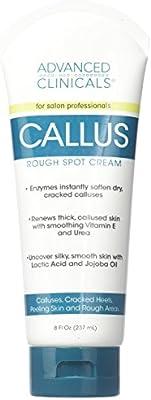Advanced Clinicals 8oz Callus Cream