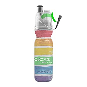O2Cool ArcticSqueeze Insulated Mist 'N Sip Squeeze Bottle - 20 Ounce, Artist Four