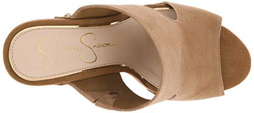Jessica Simpson Donna Wynne Platform Sandalo Dakota Tan