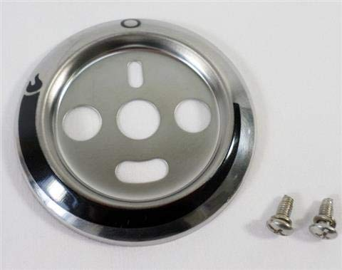 BBQ Grill Char Broil Advantage Bezel for Control Knob ()
