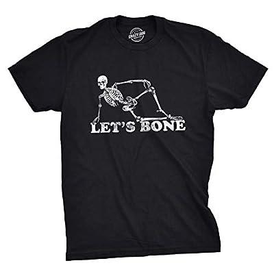 Mens Lets Bone T Shirt Funny Halloween Skeleton Tee Costume Ideas