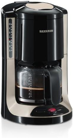 Severin 4157 - Cafetera Negra y Titanio: Amazon.es: Hogar