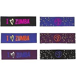 Zumba - I Love Zumba Reversible Headbands 3-pack