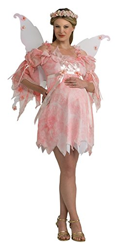[UHC Women's Maternity Fairy Pixie Pink Mommy To Be Cute Halloween Costume, Standard (8-12)] (Cute Maternity Costumes Halloween)