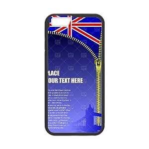 British Flag 003 iPhone 6 4.7 Inch Cell Phone Case Black 53Go-418597