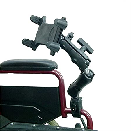 Amazon.com: Buybits Tablet Holder Mount for Wheelchairs (sku 21115): Computers & Accessories
