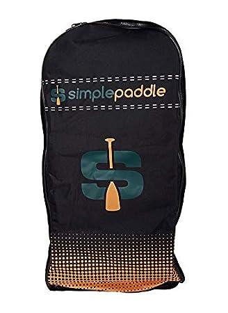 Stand Up Paddle - Bolsa de Transporte con Ruedas, Color Naranja ...