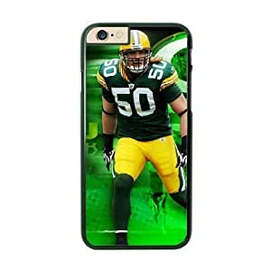 NFL Case Cover For HTC One M8 Black Cell Phone Case Green Bay Packers QNXTWKHE1535 NFL Custom Phone Clear
