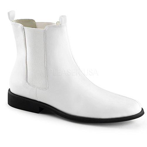 White Chelsea 40 Boots Ankle Dia Traje Retro 12 Bruxas Das Do 48 Soldado Funtasma Carnaval Do w0gUXxYY