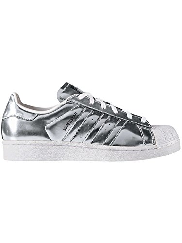 Adidas Sneaker SUPERSTAR W CG3681 Silber, Schuhgröße:37 1/3