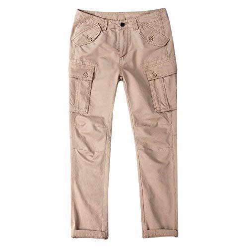 Casual Da Per Pantaloni Uomo Unita Libero Con Autunno Cargo Jogging Multiple Tempo Bobo Khaki Tasche Tinta Primavera Lavoro Vintage A 88 Il q8cBW4nF