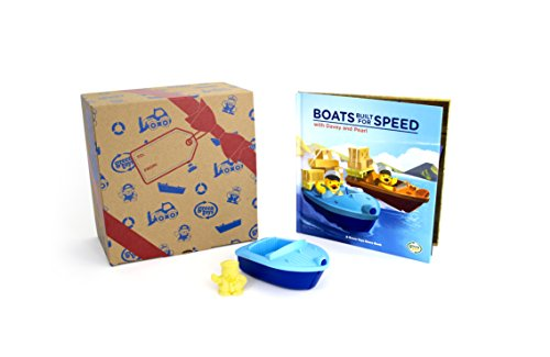 Book Gift Set With Launch Boat & Storybook, by Green Toys