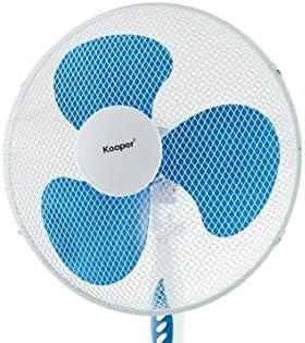 Kooper 2193508 Ventilatore a piantana Base ad Arco cm 130 Blu Scuro