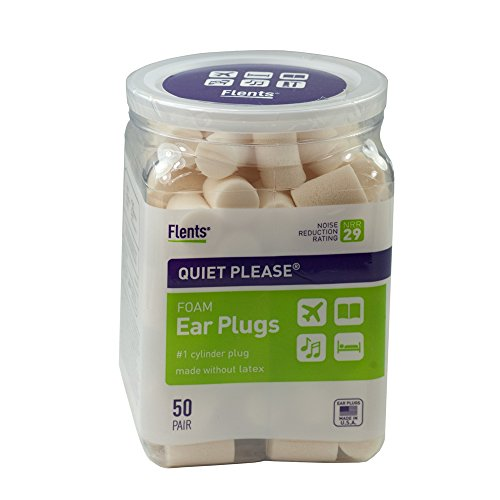 Flents Quiet Please Ear Plugs (50 Pair)