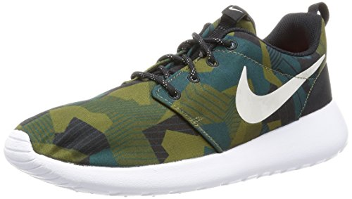 Nike Hommes Roshe Une Impression Chaussures De Course Marron (cargo Kaki / Lumi