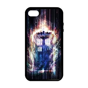 Doctor Who TARDIS Burning Light Case for iPhone ipod touch4 case