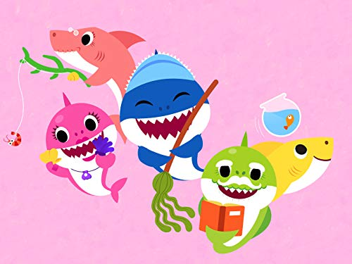 Mummy Makeup For Kids (The Shark Family)