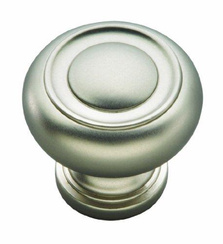 Hickory Hardware P3151-SN 1-1/4-Inch Cottage Knob, Satin Nickel