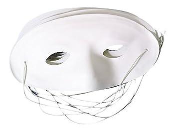 Masque Loup à peindre ( lot de 5 )-blanc: Amazon.fr: Jeux et Jouets