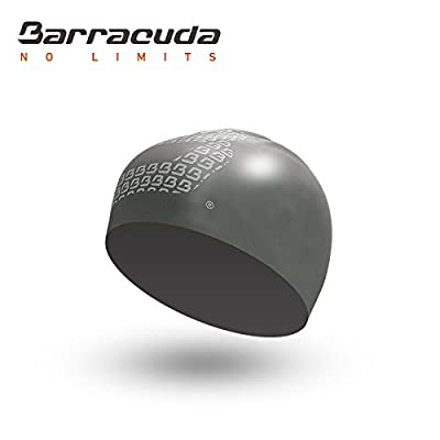 Barracuda Accessories3D SILICONE CAP (Big B Logo) - Waterproof Wrinkle Free Silicone, Solid Color, Comfortable Lightweight Professional for Adults Men WomenTeens