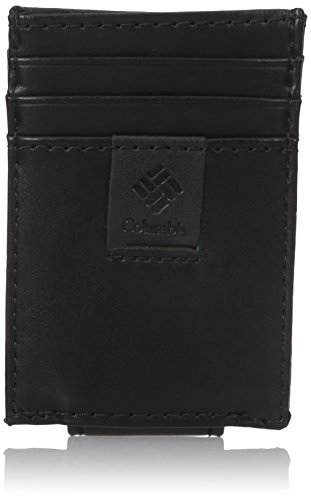 Columbia Men's Rfid Blocking Card Case Wallet With Magnetic Money Clip, black, One Size (Magnetic Money Clip Card)