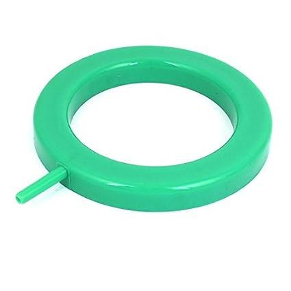 Amazon.com : eDealMax acuario Redondo difusor de burbujas de liberación de aire Aire de Piedra, Verde : Pet Supplies