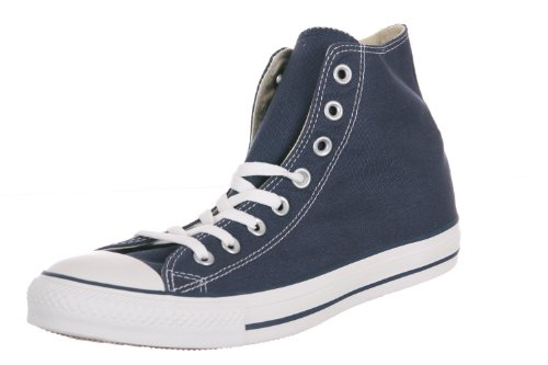 Converse Mens Chuck Taylor All Star High Top, 8 D(M) US, Navy_men Size