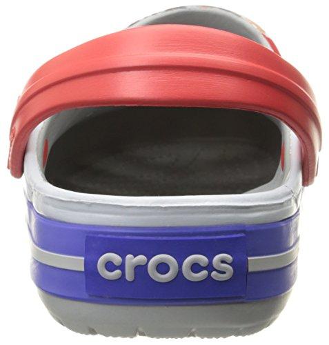 Crocs Dames Crocband Avengers Mule Lichtgrijs