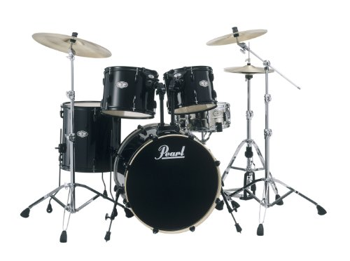 pearl-vision-vx925-b31-drum-kit-jet-black-cymbals-not-included