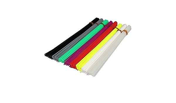 UEETEK 320pcs 20cm impresora 3D filamento 1,75 mm PLA plástico ...