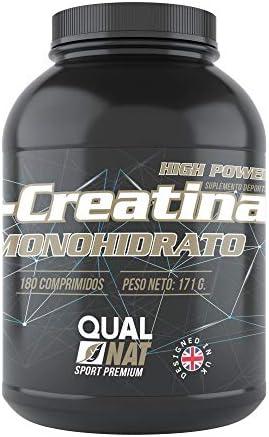 Kreatin zum Aufbau von Kraft und Muskelmasse – Sportergänzungsmittel, das die Resistenz und sportliche Leistung verbessert – Verlangsamt Müdigkeit und liefert Energie – 180 Kreatin Tabletten