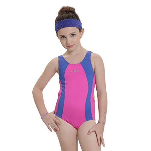 Girls Athletic One Piece Swimsuits Years