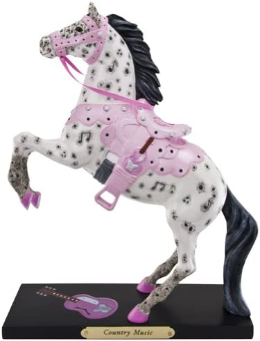 Enesco Trail of Painted Ponies Country Music Figurine, 8.5-Inch