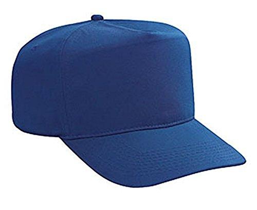 Hats & Caps Shop Cn Twill High Crown Golf Style Caps - Royal - By (Plaid Pork Pie Hat)
