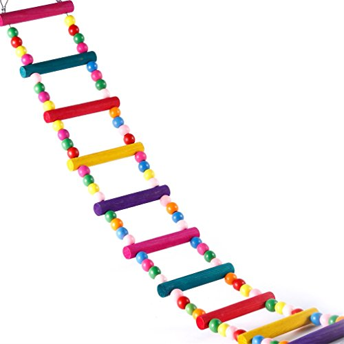 Ladder OUTAD Wooden Birdcage Colorful product image