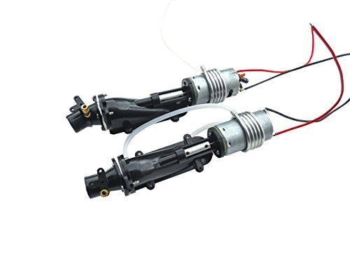 Jet Rc Boat (NQD 757-6024 RC Boat Turbo JET Part with Motor and Water Cooling System X 2)