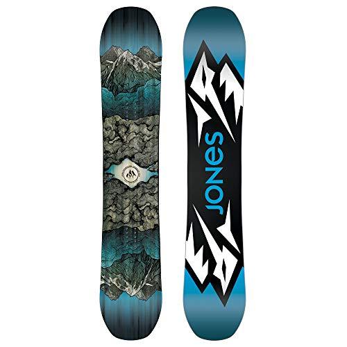 Jones - Mens Mountain Twin Snowboard 2019, 157 ()