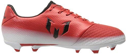 adidas Herren Messi 16.2 Feste Bodenplatten Fußballschuh Rot / Schwarz / Weiß