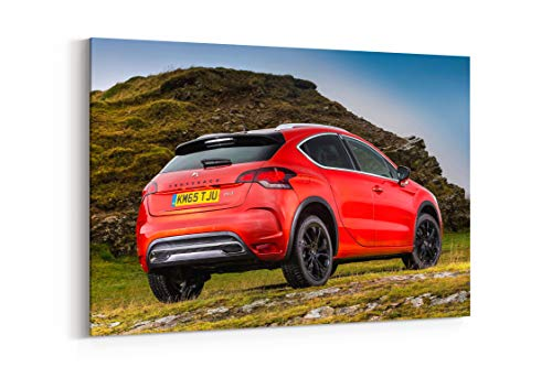 - D S 4 Crossback UK Spec Ds4 SUV AWD - Canvas Wall Art Gallery Wrapped 12