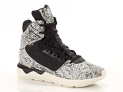 adidas S82515, Baskets Montantes Tubular GSG9 Homme Blanc Cassé