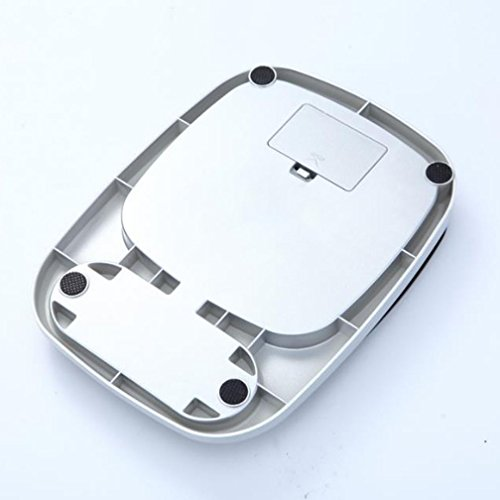 lerda pe Balanza de Cocina Digital 10 kg Balanzas electrónicas Mini con Pantalla LCD, baterías operadas, Blanco: Amazon.es