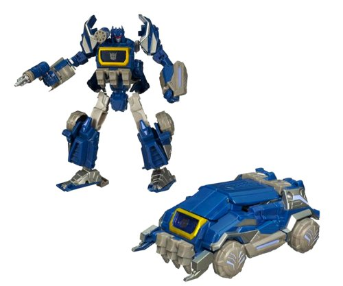 Hasbro Year 2010 Transformers Generations Series Deluxe Class 6 Inch Tall Robot Action Figure - CYBERTRONIAN SOUNDWAVE with Weapon Storage and Cannon (Vehicle Mode: Armored Vehicle)