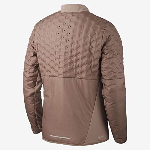 Nike AeroLoft Men's Running Jacket Mink Brown Size Large 928505-270 by Nike (Image #1)
