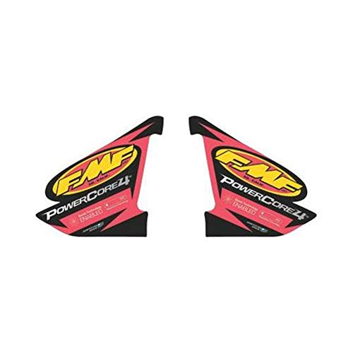 FMF Racing PowerCore 4 2-Part 012637 Sticker Wrap Decal Logo Replacement ()