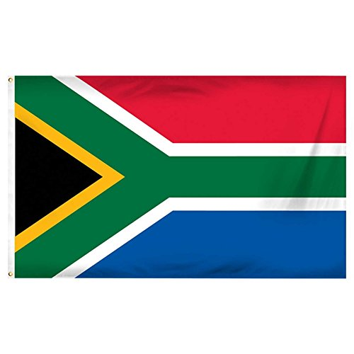 South Africa National Flag 5ft x 3ft Polyester Nation Countr
