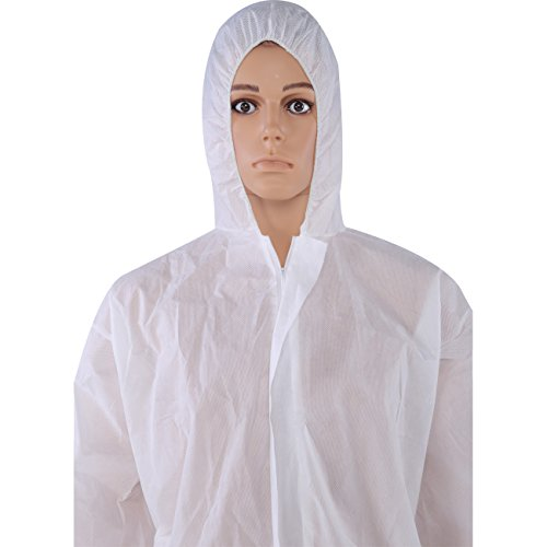 Cleaing Disposable Coveralls White Elastic product image