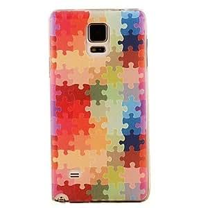 GX Teléfono Móvil Samsung - Cobertor Posterior - Gráfico/Dibujos Animados/Diseño Especial - para Samsung Galaxy Note 4 ( Multi-color , Plástico )